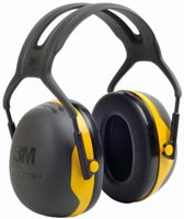 Oorkappen 3M Peltor X2A, met hoofdband