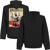 Mike Tyson Poster Hooded Sweater - L