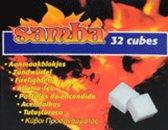 Samba Aanmaakblokjes 64 Stuks Wit