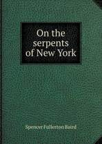 On the Serpents of New York