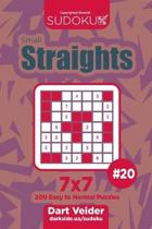 Sudoku Small Straights - 200 Easy to Normal Puzzles 7x7 (Volume 20)