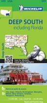 Michelin USA Deep South Including Florida Map 177