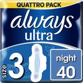 Always Ultra Night - Gigapak - 40 stuks - Maandverband