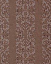 Barok behang neo behang damast behang EDEM 829-26 chocolade-bruin parelmoer accent | 70 cm