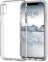 iPhone X Case Liquid Crystal - Crystal Clear (f)