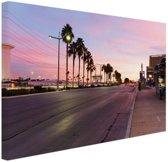 FotoCadeau.nl - Kleurrijke lucht Las Vegas Canvas 60x40 cm - Foto print op Canvas schilderij (Wanddecoratie)
