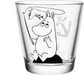 Iittala Moomin Glas - 21Cl - Moomin Trol Aan Het Vissen