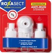 Roxasect Anti-Mug Stekker met 2 navullingen op basis van olie