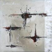 Schilderij 'Discover 2' 80x80cm