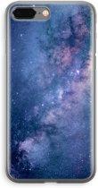 iPhone 8 Plus Transparant Hoesje (Soft) - Nebula