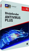 Bitdefender Antivirus Plus 2019 - 3 Apparaten - 2 Jaar - Windows