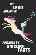 My Lego Notebook Powered By Unicorn Farts