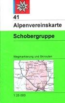 DAV Alpenvereinskarte 41 Schobergruppe 1 : 25 000