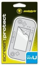 Snakebyte Wii U Screen Protect