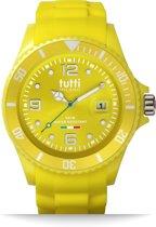 Tutti Milano TM002YE- Horloge -  42.5 mm - Geel - Collectie Pigmento