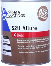 Sigma S2U Allure Gloss Wit - 1 Liter