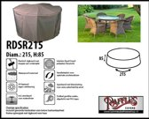 Ronde hoes voor tuinset Ø: 215 cm & H: 85 cm