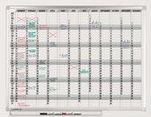 PROFESSIONAL jaarplanner 365 dagen 90x120 cm