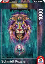 Luminescent Lion 1000 pcs Puzzels