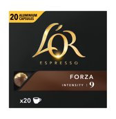 L'OR ESPRESSO Forza koffiecups - 10 x 20 cups - grootverpakking