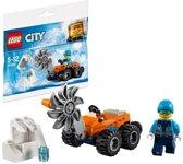 Lego City Artic ijszaag polybag - zakje 30360