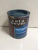 CetaBever Meesterbeits UV Dekkend - 0,75 liter - Staalblauw