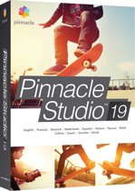 Pinnacle Studio 19 - Nederlands / Engels / Frans / Windows