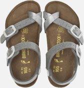 Birkenstock Taormina Magic Galaxy sandalen zilver