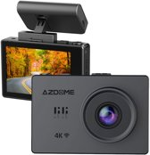 AZDome M10 Pro 4K dashcam - Touch screen - Wifi - GPS - Autom. Parkeerstand