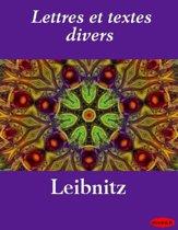 Lettres et textes divers