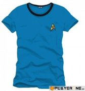 STAR TREK - T-Shirt Blue Spock Uniform (S)