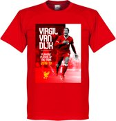 Virgil van Dijk Player of the Year T-Shirt - Rood