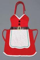 Kerstvrouw schort