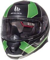 Helm MT Thunder III sv Trace zwart/groen M