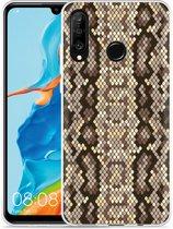 Huawei P30 Lite Hoesje Snakeskin Pattern