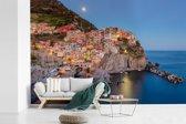 Fotobehang vinyl - Het kleurrijke dorp van Manarola in Cinque Terre breedte 600 cm x hoogte 400 cm - Foto print op behang (in 7 formaten beschikbaar)