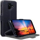 Samsung Galaxy A6 2018 hoesje - CaseBoutique - Zwart - Kunstleer