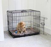 Adori Hondenbench - Zwart - S - 62 x 44 x 50 cm
