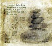 Dubbele kaarten Yesterday is history - 14x14 cm (5 stuks) - S