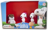 Snoopy The Peanuts Movie figurenset 3-delig