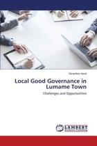 Local Good Governance in Lumame Town