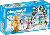 PLAYMOBIL Skischooltje  - 9282