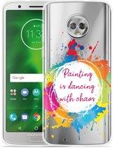 Moto G6 Hoesje Painting