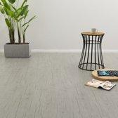 vidaXL Klikvloer 3.51 m² 4 mm PVC washed eiken