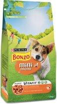 Bonzo Mini Menu Kip  - Hondenvoer - 4x 1.5 kg