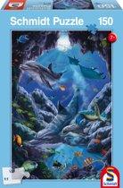Kleuren van de zee - Kinderpuzzel - 150 Stukjes