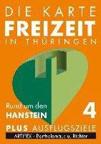 Die Karte - Freizeit in Thüringen 04. Rund um den Hanstein 1 : 30 000