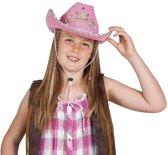 Cowgirlhoed in prinsessenuitvoering voor meisjes - Verkleedhoofddeksel