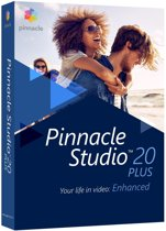 Pinnacle Studio 20 Plus - Nederlands / Engels / Frans - Windows
