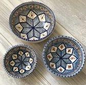 Tapas setje  3 delig Shebka | SH.TP.3D | Dishes & Deco